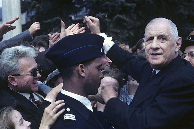 Charles de Gaulles dans l'Est de la France en avril 1963