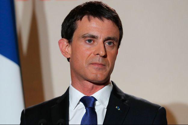 Manuel Valls, au soir de sa défaite à la primaire de la gauche.