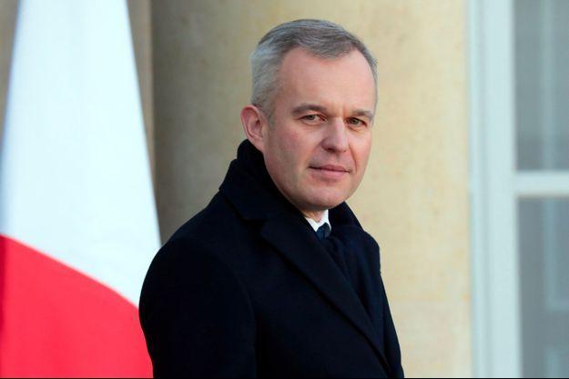 François de Rugy à l'Elysée, mercredi.