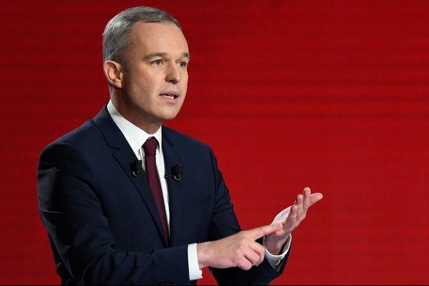 Francois de Rugy, lors de l'un des débats de la primaire socialiste.