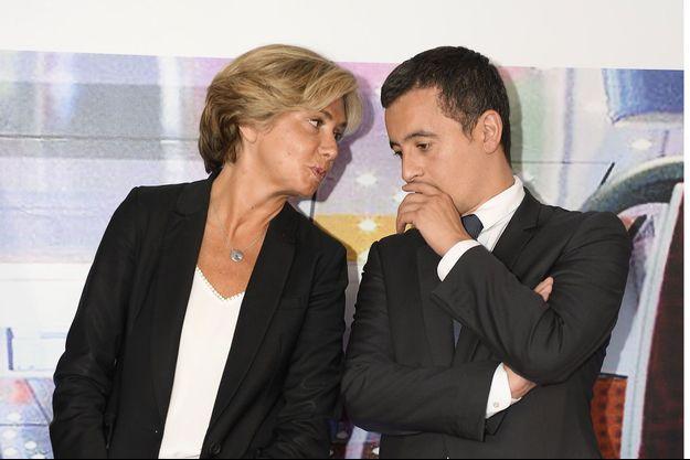 Valérie Pécresse et Gérald Darmanin en 2016.
