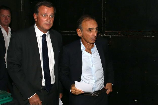 Louis Aliot et Eric Zemmour ici fin 2019 à Perpignan.