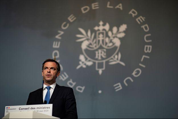 Olivier Véran, mercredi, à l'issue du Conseil des ministres