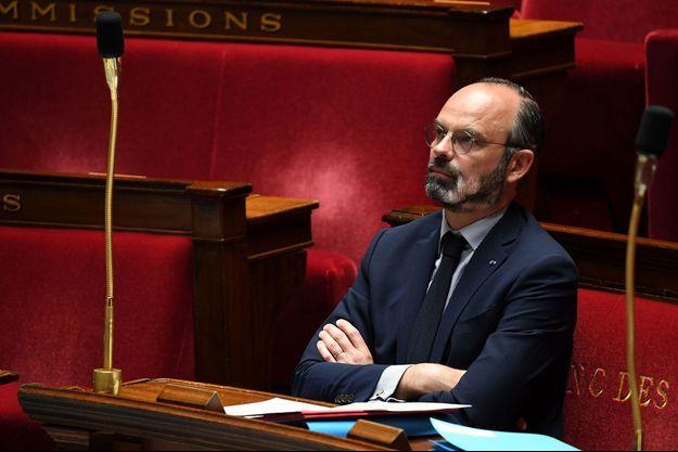 Edouard Philippe la semaine dernière à l'Assemblée nationale.