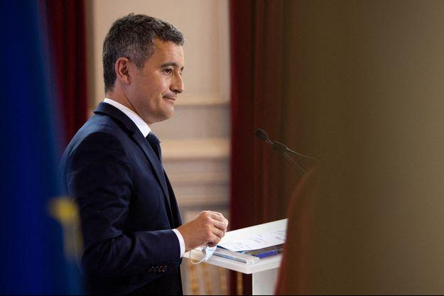 Gérald Darmanin ici au ministère de l'Intérieur mi-mai.