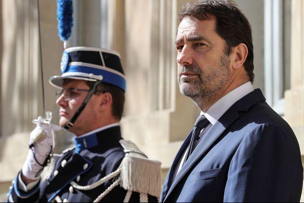 Christophe Castaner, le 13 mars au ministère de l'Intérieur.