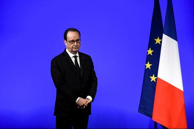 François Hollande à Vaulx-en-Velin, le 21 mars.
