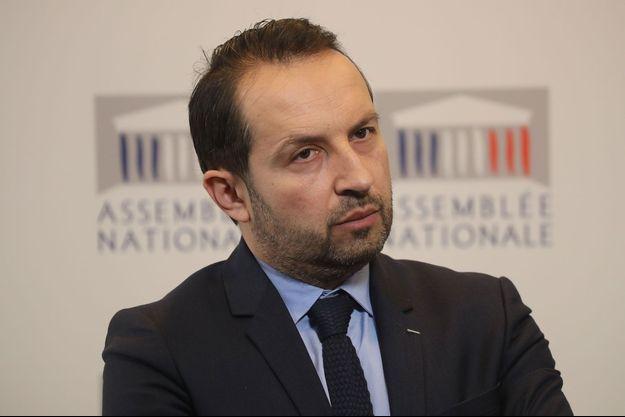 Le député et porte-parole du Rassemblement national Sébastien Chenu, en mars à l'Assemblée nationale.