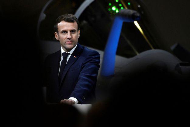 Emmanuel Macron le 16 janvier dernier, à Orléans.