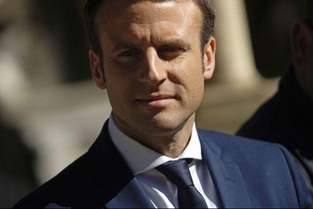 Emmanuel Macron à Alger, mardi.