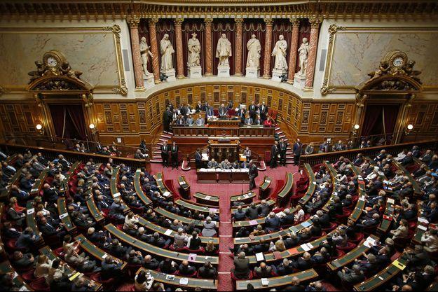 L'hémicyle du Sénat, le 1er octobre dernier.
