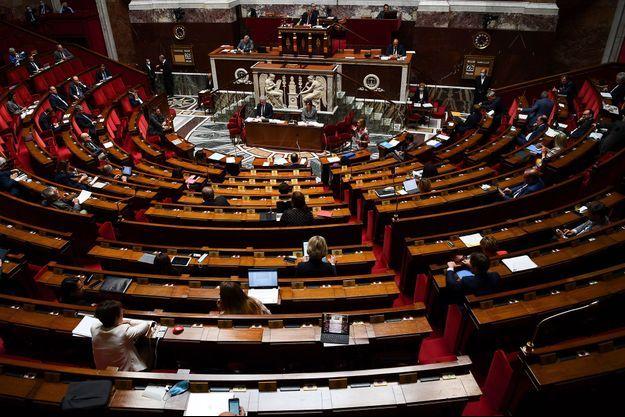 L'Assemblée nationale, mardi lors des questions au gouvernement.