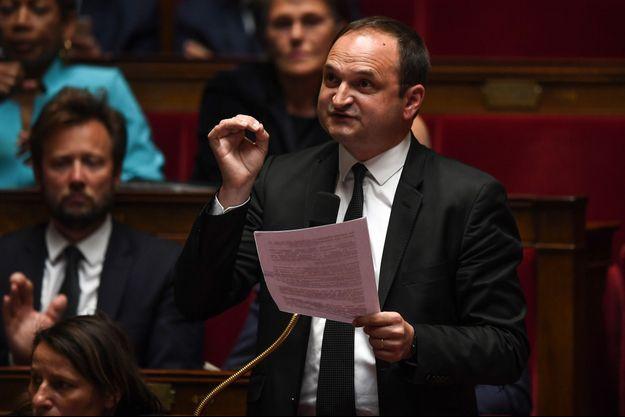Le député Régis Juanico, l'un des signataires de la tribune.