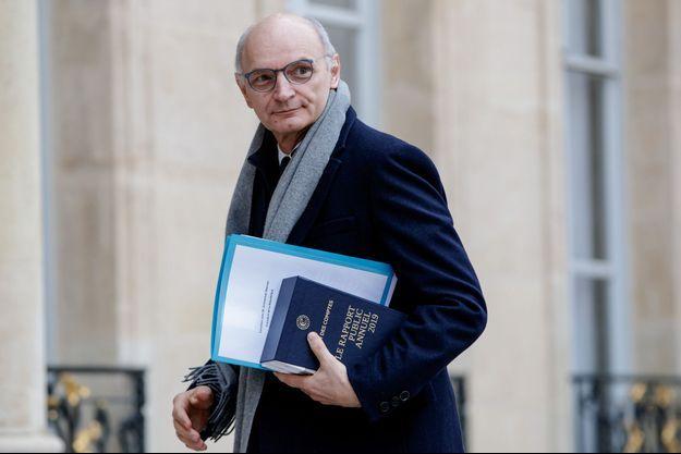 Didier Migaud, ici à l'Elysée en février 2019.