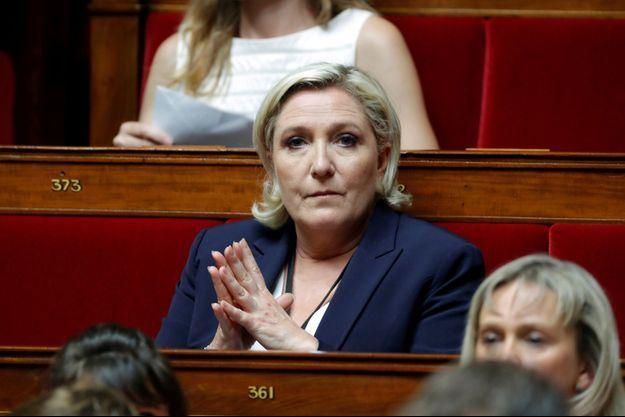 L'Assemblée a levé l'immunité parlementaire de Marine Le Pen.