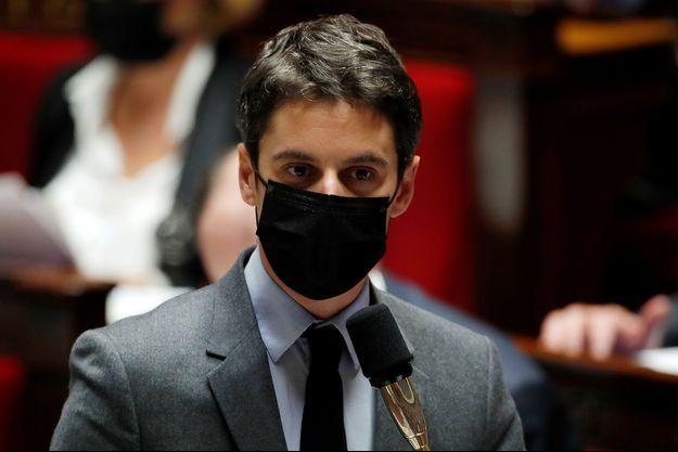 Gabriel Attal, ici à l'Assemblée nationale mi-mars.