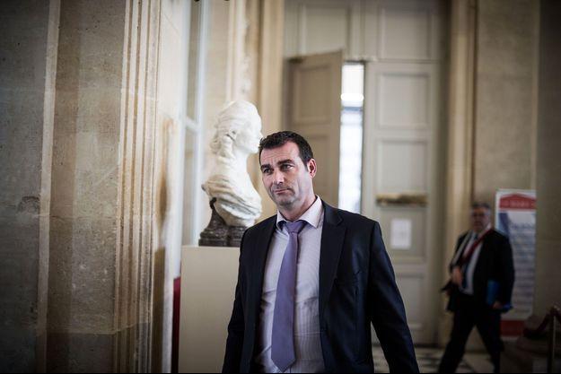 Christophe Blanchet à l'Assemblée nationale en mars 2019.