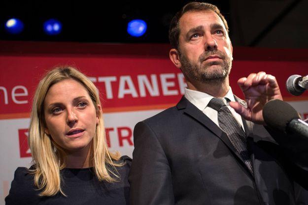 L'émotion de Christophe Castaner, le candidat socialiste en Paca, qui s'est retiré après sa troisième place au premier tour des élections régionales.
