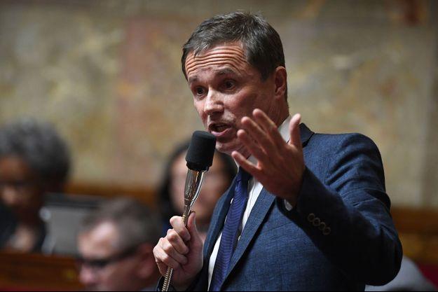 Nicolas Dupont-Aignan à l'Assemblée nationale le 5 juin.