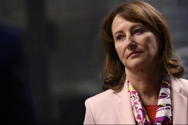 Ségolène Royal, en marge d'une émission télévisée en janvier 2021.