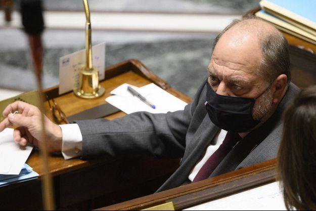 Eric Dupond-Moretti, le 2 mars à l'Assemblée nationale.