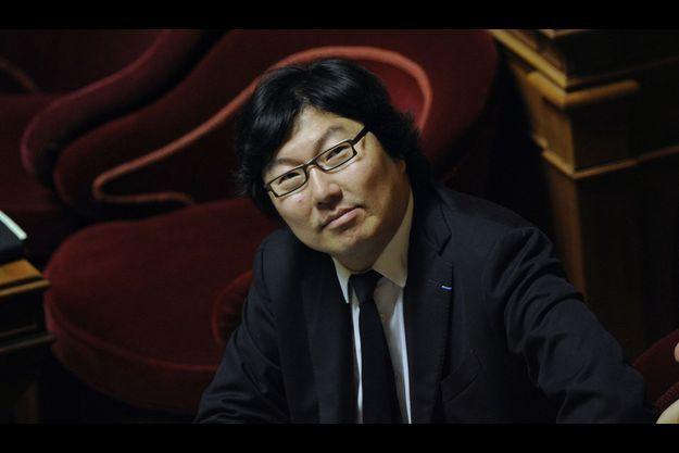 Jean-Vincent Placé au Sénat.