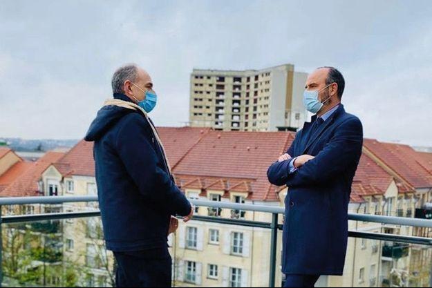 Avec Jean-François Copé, le 15 décembre