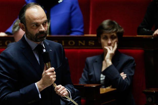 Le Premier ministre Edouard Philippe à l'Assemblée nationale.