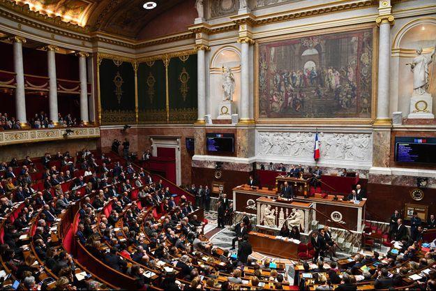 Edouard Philippe face aux députés, mercredi.
