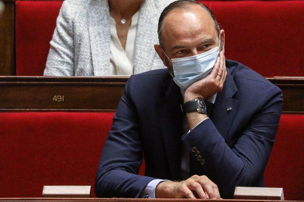 Edouard Philippe, le 23 septembre 2020 à l'Assemblée lors d'un hommage à Jacques Chirac.