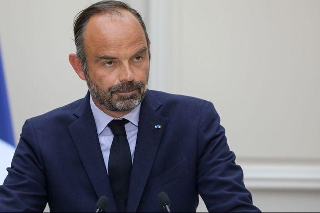 Edouard Philippe le 4 septembre à l'Elysée.