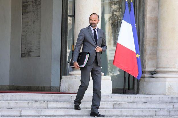 Edouard Philippe, ici fin juillet à l'Elysée.