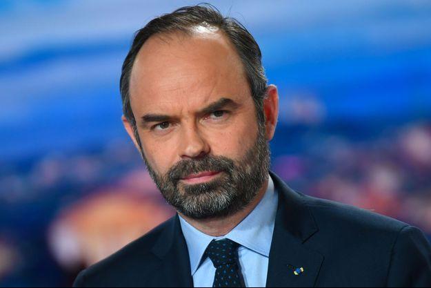 Edouard Philippe sur le plateau de TF1, lundi soir.