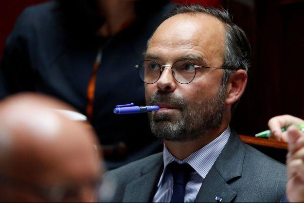 Edouard Philippe ici à l'Assemblée nationale mi septembre.