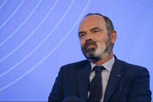 Edouard Philippe en septembre lors d'un sommet sur le Grand Paris.