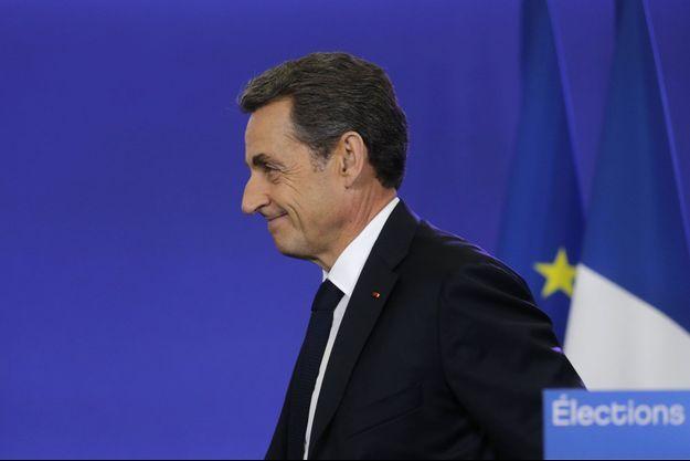 Nicolas Sarkozy, dimanche soir.