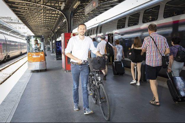 David Belliard a débarqué à Paris par la gare de l'Est, à bord du Vesoul-Paris, à la fin des années 1990.