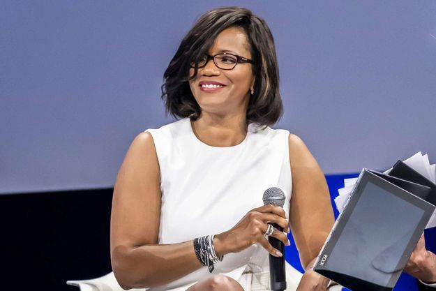 Élisabeth Moreno en 2017.