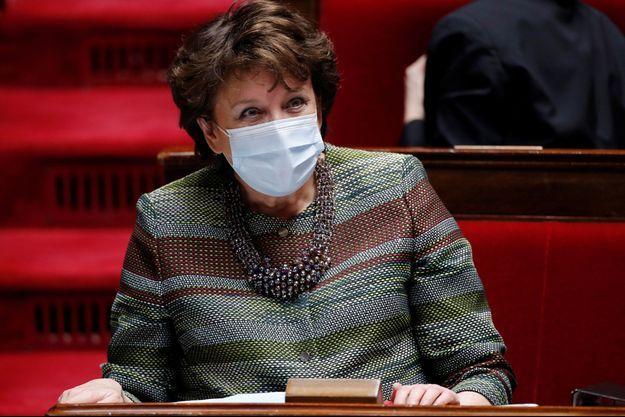 Roselyne Bachelot le 16 mars à l'Assemblée nationale.