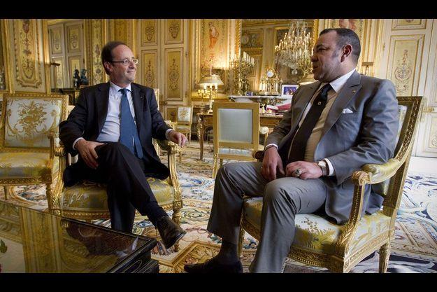 Le 24 mai dernier, le nouveau président reçoit le roi du Maroc Mohammed VI.