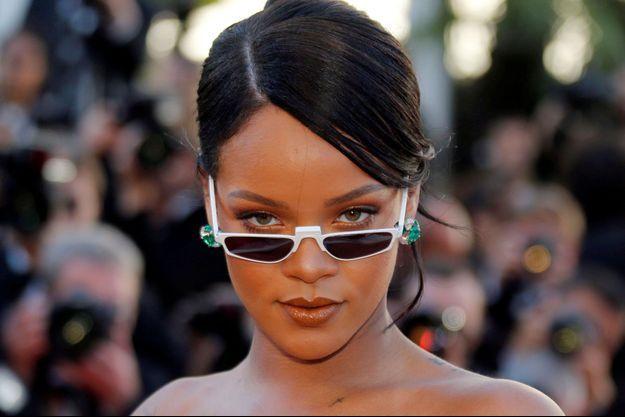 Rihanna au dernier Festival de Cannes.