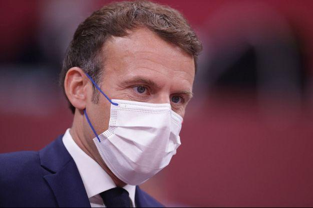 Emmanuel Macron, ici aux Jo de Tokyo ce week-end.
