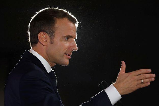 Emmanuel Macron à Pont-a-Mousson.
