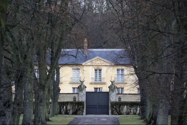 La résidence de la Lanterne, à Versailles, ici photographiée en 2014.