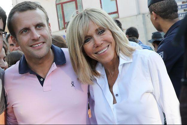 Emmanuel Macron, Brigitte Macron