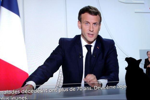 Emmanuel Macron a annoncé un nouveau confinement jusqu'au 1er décembre.