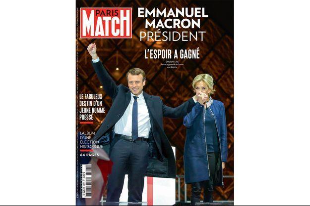 La couverture du numéro 3547 de Paris Match