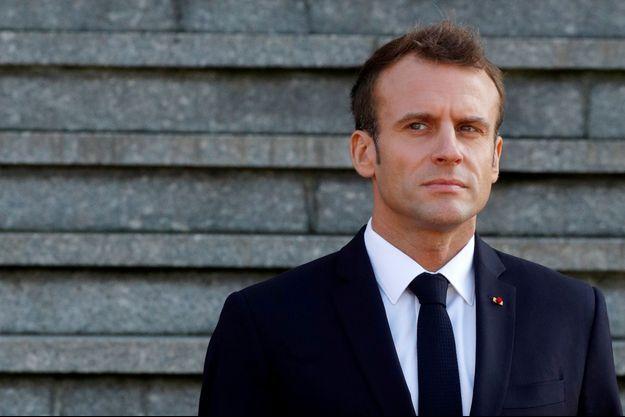 Emmanuel Macron, la semaine dernière à Albert.