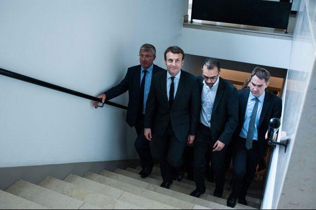 Emmanuel Macron chez BPIFrance le 10 juin.