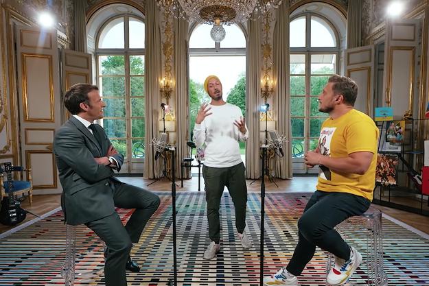 Emmanuel Macron, Carlito et McFly.
